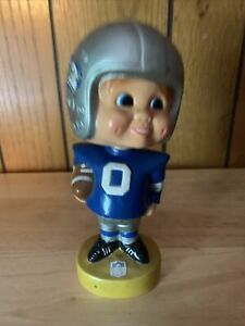 Vintage 1970s Seattle Seahawks Bobble Head Football Player Retro Jersey