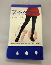 Blue Polka Dot Winter Ladies Tights