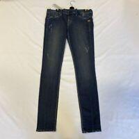 G-Star Elect Super Skinny Jeans Trash Wash Blue Ladies Size UK W32 L32 *REF152