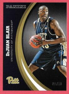 2016 DeJuan Blair Panini Pittsburgh Panthers Multi-Sport Black 09/10 - Spurs