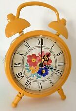 The Pioneer Woman Yellow Floral Clock