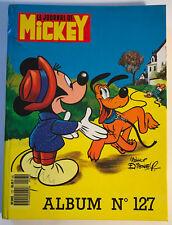 ALBUM LE JOURNAL DE MICKEY n°127 ¤ avec n°1828 à 1837 ¤ 1987 + MINI BD DONALD