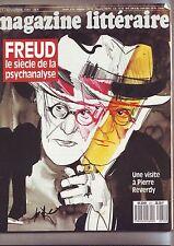 le magazine litteraire - 271 novembre 1989 - freud