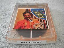 """BILL COSBY """"HOORAY FOR THE SALVATION ARMY BAND"""" MUNTZ 4 TRACK TAPE CARTRIDGE"""