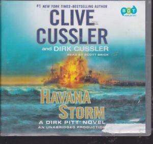 HAVANA STORM by CLIVE CUSSLER~UNABRIDGED CD AUDIOBOOK