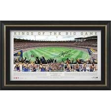 WEST COAST EAGLES 2018 AFL PREMIERS SIGNED FRAMED LIMITED EDITION PANORAMIC