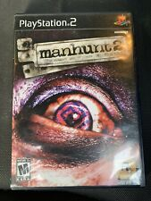 Manhunt 2 (Sony PlayStation 2 PS2) Complete Rare. Tested. L@@k