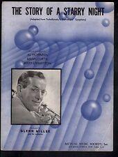 Story of a Starry Night 1943 Glenn Miller Sheet Music