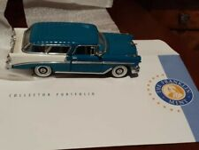 Franklin Mint 1956 Chevy Nomad 1:43 Diecast Car. Perfect condition.