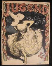 Jugend 1902 Art Nouveau jugendstil antique magazine issue 7 Kulhavy Volz Georgi