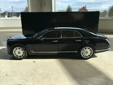 bentley mulsane 2010 black minichamps 1:18
