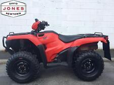 NOV 2014 HONDA TRX500 FM MANUAL FOREMAN 4x2x4 4WD QUAD BIKE ATV FOUR WHEELER