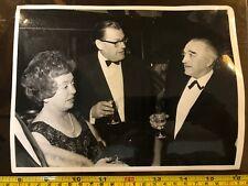 Tabloid Paper Original Press Photo 1968 Reg Mauldling Black Tie Event