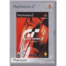 PLAYSTATION 2 GT3 GRAN TURISMO 3 PLATINUM PS2 PAL [G]