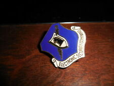 US USA USAF Air Force Electronic Security Command Hat Military Crest Pin