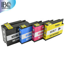 4x Ink For HP 932 933 OfficeJet Pro 6700 Premium / 6600 e All-in-One >>IBC W1°