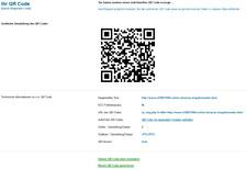 QR CODE Generator und QR-Schnittstelle für Ihre Webseiten - Script - PHP