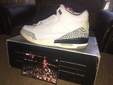 2003 Nike Air Jordan III 3 White/Cement Brand New Size 11.5 WC3