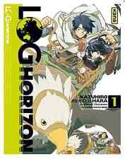 manga Log Horizon Tome 1 Seinen Kazuhiro Hara Mamare Tono Kana  J One Jeux Vidéo