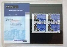 """Nederland PTT postzegelmapje 163A """"Elfstedentocht"""" 1997"""