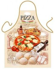 Pizza napoletana kitchen apron Italian food cooking chef gifts Polyester ITATI