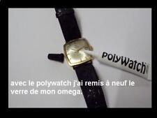 Polywatch  elimine les griffes sur verre plexi tonneau