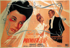 Christian Jaque Premier bal French movie poster print