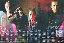 "COLDPLAY ""MYLO XYLOTO"" HONG KONG PROMO POSTER / 2012 CALENDAR - ALT ROCK MUSIC"