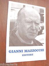 GIANNI MAZZOCCHI editore editoriale domus 1994 grande formato vendesi MOLTO RARO