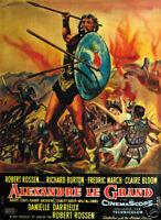 Alexander the Great Richard Burton vintage poster print
