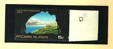 PITCAIRN ISLANDS Sc#105a GOLD OMITTED ON 15c STAMP MNH RARE