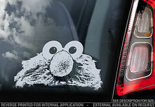 Elmo - Sesame Street Car Window Sticker - Muppets Peeping Peeper Cute Sign - V02