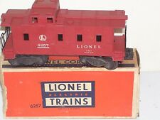 Vintage Train Lionel Caboose Car # 6257 Good Condition with Box