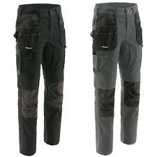 CAT Caterpillar Trousers Mens Essentials Knee Pocket Cargo Durable Work Pants