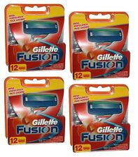 48x Gillette Fusion suenan original 4x 12er set Gilette Gilette Razor Blades