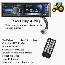 Kubota Tractor Plug Amp Play Bluetooth Radio Remote Control Am Fm Rtv Rtx X1100c