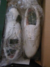 NEW - NIB- MENS GOLF SHOES- Size 8  DUNLOP CLASSIC WHITE SADDLE MODEL M 3000C