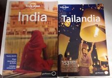 Guia Lonely Planet India Edición  2012+ Tailandia Edición 2010