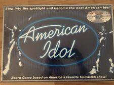 (422)American Idol Board Game with Karaoke CD (2003) New! Sealed!