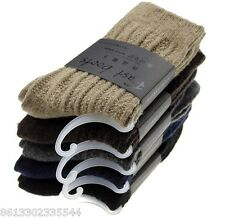 4 Pairs Men New Soft Comfortable Warm Wool Cashmere Socks High Quality 9-11 SALE
