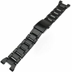 Casio Black Metal Watch Band G-Steel GST-200RBG GST-S110BD GST-S130BD GST-W110BD