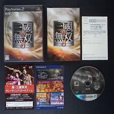 SHIN SANGOKU MUSOU 4 PlayStation 2 NTSC JAPAN・❀・KOEI DYNASTY WARRIORS PS2 真・三國無双