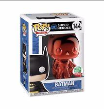 Funko Pop Heroes Red Chrome Batman Order Confirmed (not In Hand)