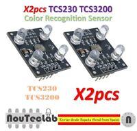 2pcs TCS230 TCS3200 RGB Color Recognition Sensor Detector Color Sensor Module