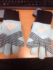 Adidas replique fingersave goalkeeper gloves size 7 new in pack zip broken (9 )