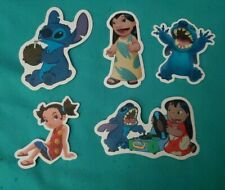 Disney Stickers - Lot of 5 - Stitch Characters
