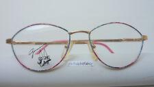 Sonnenbrillen & Zubehör Brille Brillengestell Fassung Frame Frauen Rodier Gold Pink Große Form Size M