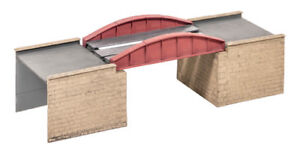 Wills 00 Gauge Layout, scenics Plastic Kit No:SS-47 Bow Plate Girder Bridge.