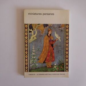 Miniatures persanes 1962 Basil GRAY art peinture Flammarion UNESCO N7596