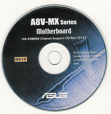ASUS A8V-MX  Motherboard Drivers Install  M619